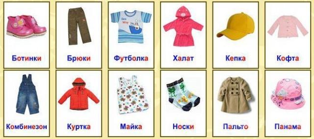 Картинки по запросу лексическая тема части одежды