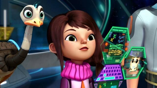 Майлз с другой планеты - Взрыв астероида/ Магнитный Мёрк (Сезон 1 Серия 19)   Disney