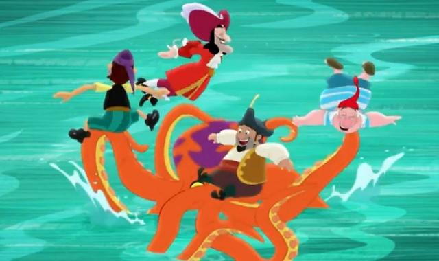 Джейк и пираты Нетландии - Крюки Капитана Крюка / Питомец Мистера Сми - Серия 30, Сезон 2