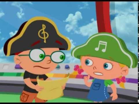 Маленькие Эйнштейны - Пиратский клад - Серия 08, сезон 1