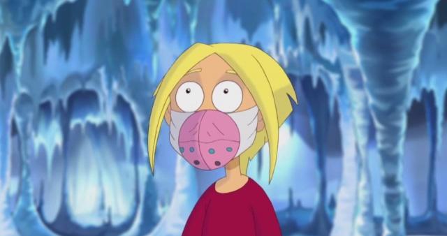Новаторы - Маска ледникового периода (1 сезон 5 серия) Мультфильм для детей
