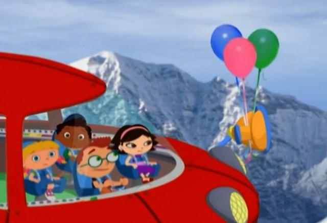 Маленькие Эйнштейны - Воздушные шарики - Серия 02, сезон 1