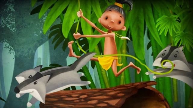 Волшебный Фонарь - Маленький Маугли - диафильмы