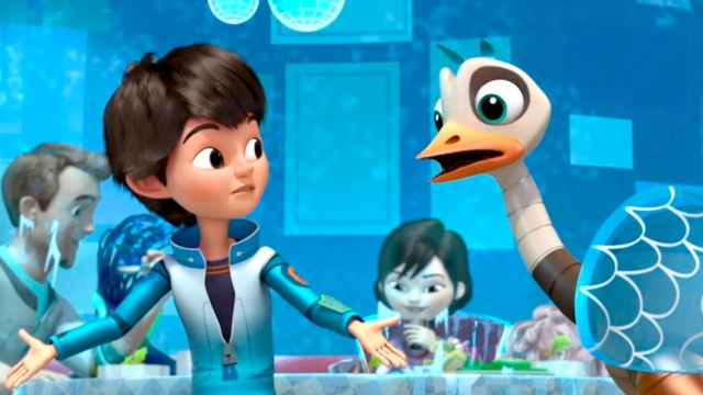Майлз с другой планеты - Замороженная еда/ Пока, мультилифт (Сезон 1 - Серия 16)   Disney