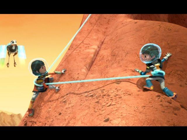 Майлз с другой планеты - Майлз против вулкана/ Охотники на марсе - Сезон 1 Серия 21   Disney