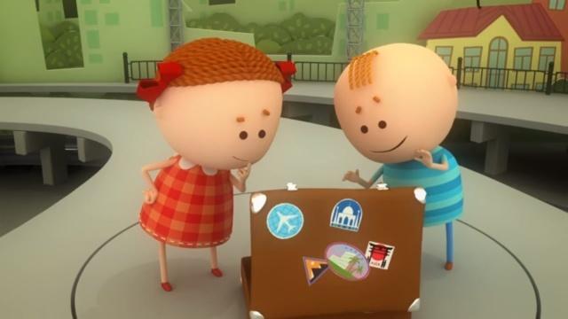 Аркадий Паровозов спешит на помощь - Чужой чемодан. Поучительные мультфильмы для детей. Серия 113