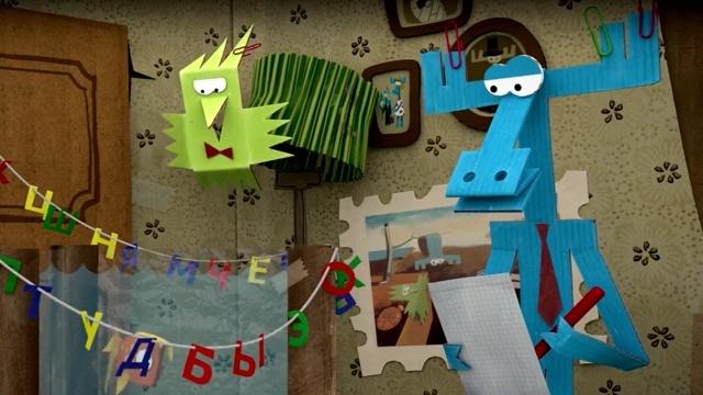 Бумажки. О чем молчит рыбка. Мультик оригами. Поделки для детей. Серия 50.