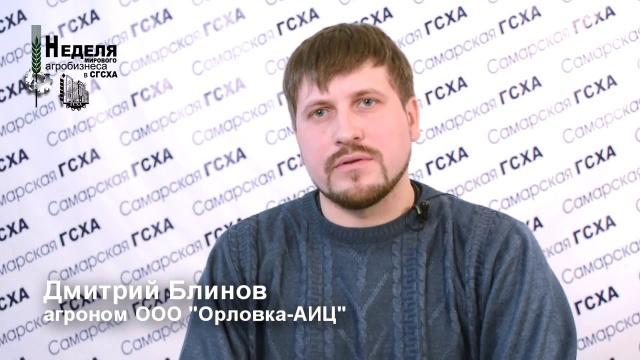"""Дмитрий Блинов, ООО """"Орловка-АИЦ"""""""