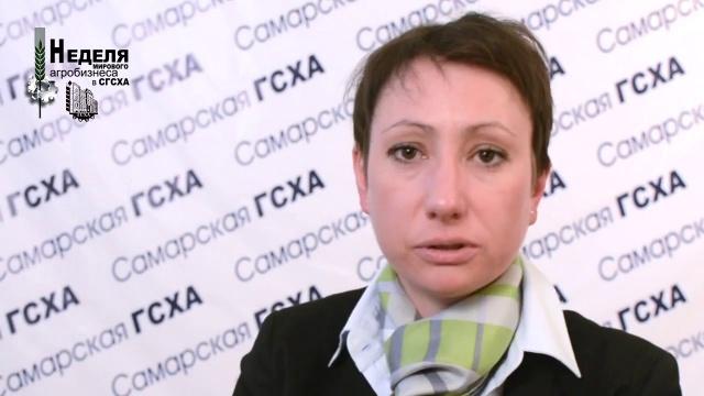 Василина Некрасова, комания CLAAS