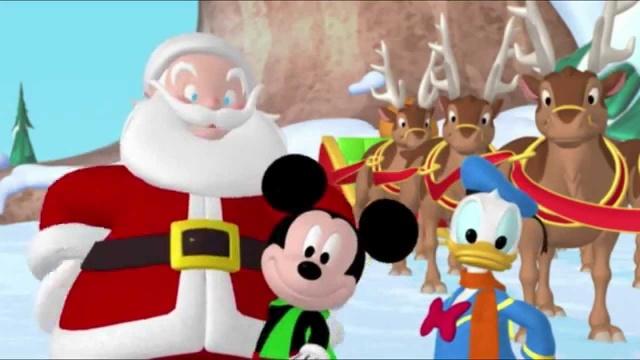 Клуб Микки Мауса - Санта Клаус, Микки Маус и Спасательный Отряд - Сезон 1, серия 21