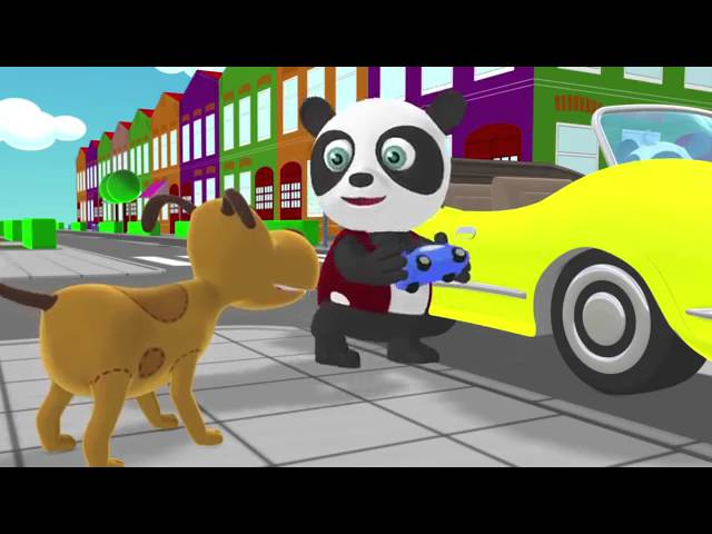 Английский для Детей Останови автобус! Том и Кери Мультфильм 16