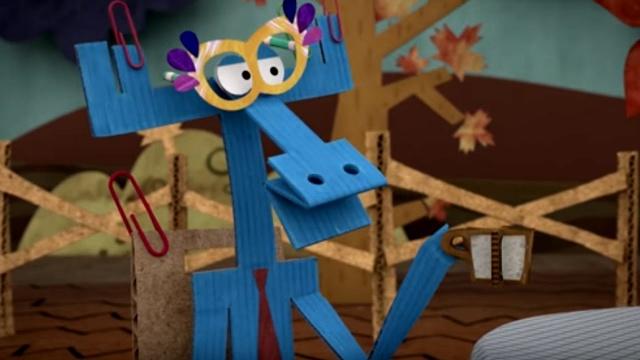Бумажки. Небумажное настроение. Серия 60. Мультик - оригами для детей. Детское творчество.