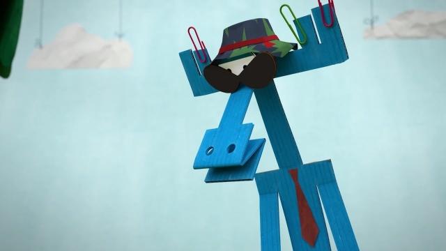 Бумажки - Бумажный детектив - Новые мультики для детей. Серия 65