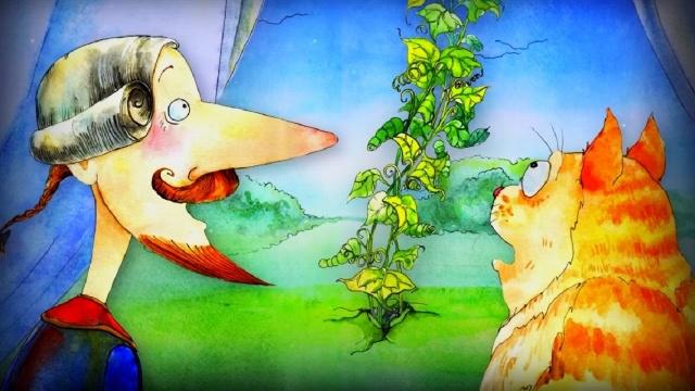 Волшебный Фонарь - Мюнхгаузен на Луне - Э. Распэ - классическая литература для детей
