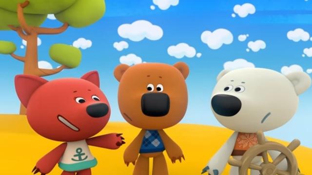 Ми-ми-мишки - Необитаемый остров. Прикольные мультфильмы для детей.