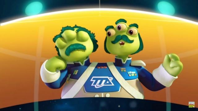 Майлз с другой планеты - Поймай биту/Супер-мёрк (Сезон 1 Серия 5) | Disney Космические приключения