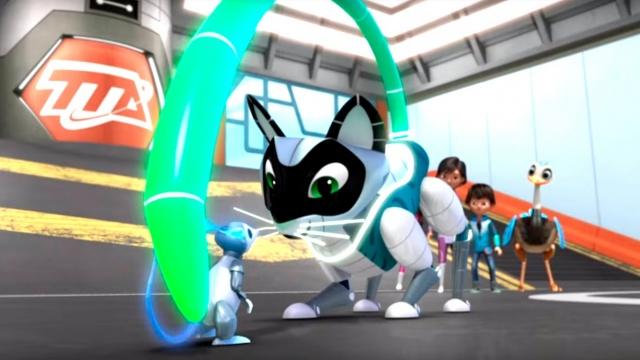 Майлз с другой планеты - Приключения с домашними роботами/ Погоня за бластбордом (Сезон 1 Серия 11)
