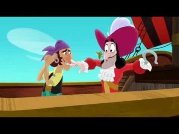 Джейк и пираты Нетландии - Песчаный пират Кабби!/ Песнь пустыни! - Серия 49, Сезон 2