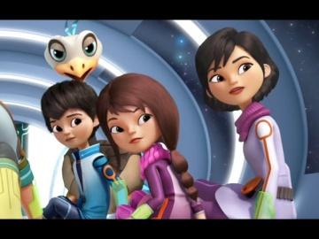 Майлз с другой планеты - Сезон 1 Серия 10 Полиция на чеку/Захватчик корабля   Disney