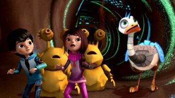 Майлз с другой планеты - Легенда о Землеельве/ Загадка Атлантикс (Сезон 1 Серия 27) l Disney