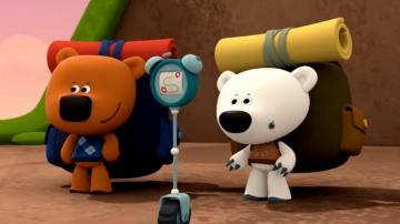 Ми-ми-мишки - В поход (серия 35) - мультик для детей про мишек