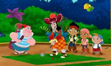 Джейк и пираты Нетландии - Драгоценный трезубец Иззи/ Пиратский мини-гольф - Серия 44, Сезон 2