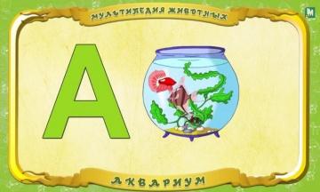 Мультипедия животных - Буква А - Аквариум
